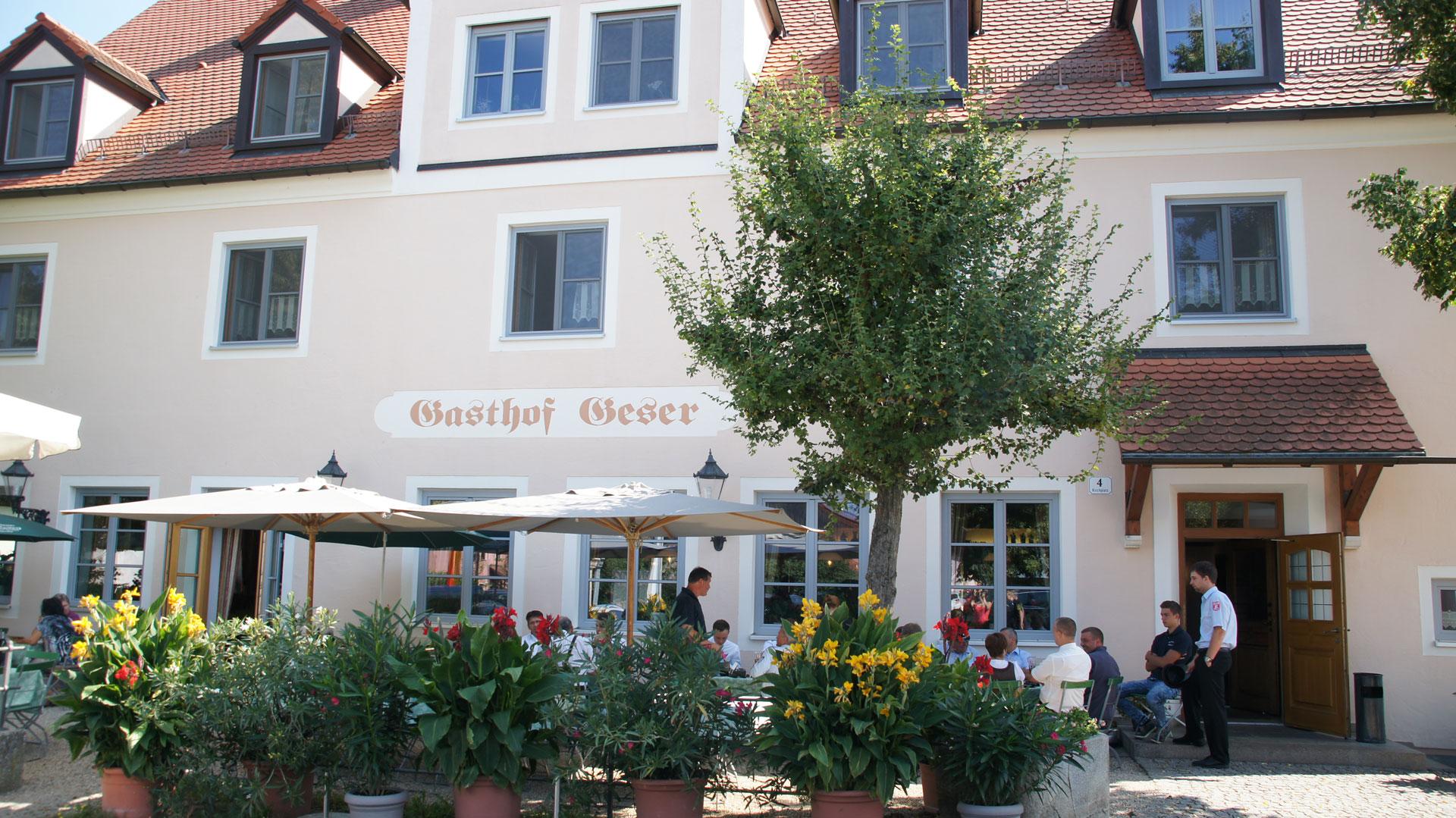 Home Landgasthof Geser Bayerischer Gasthof In Sarching Bei Regensburg